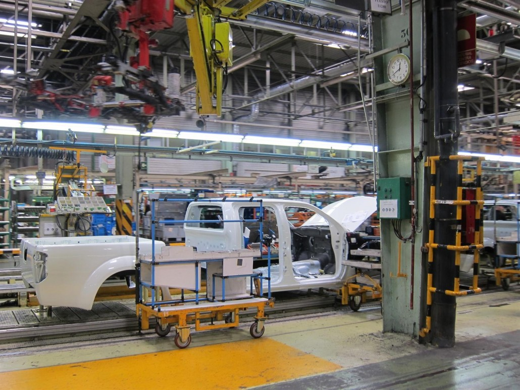 Fábrica De Nissan En La Zona Franca De Barcelona